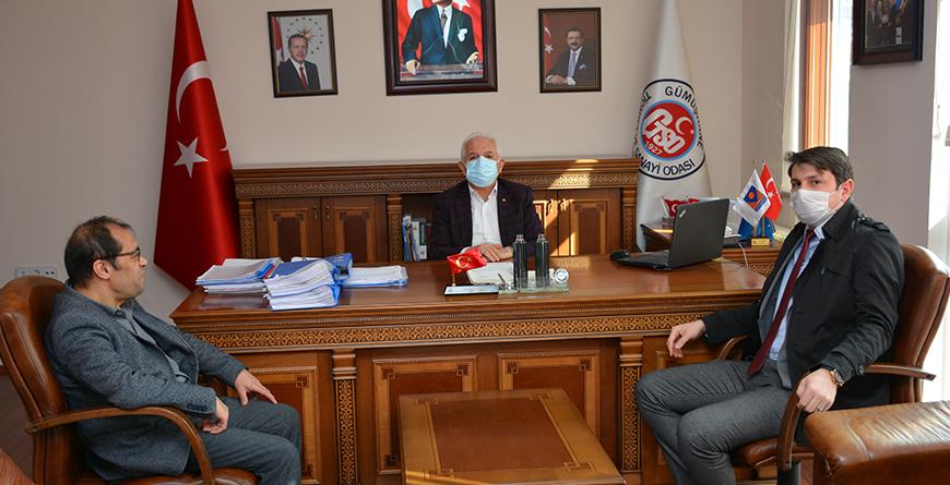 Gümüşhane Denetimli Serbestlik  Müdür Yardımcısı Fatih Murat'tan odamıza ziyaret