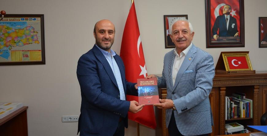 GTSO BAŞKANIMIZ AKÇAY'DAN AYAYDIN'A TEBRİK